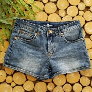 7 For All Mankind Denim Shorts